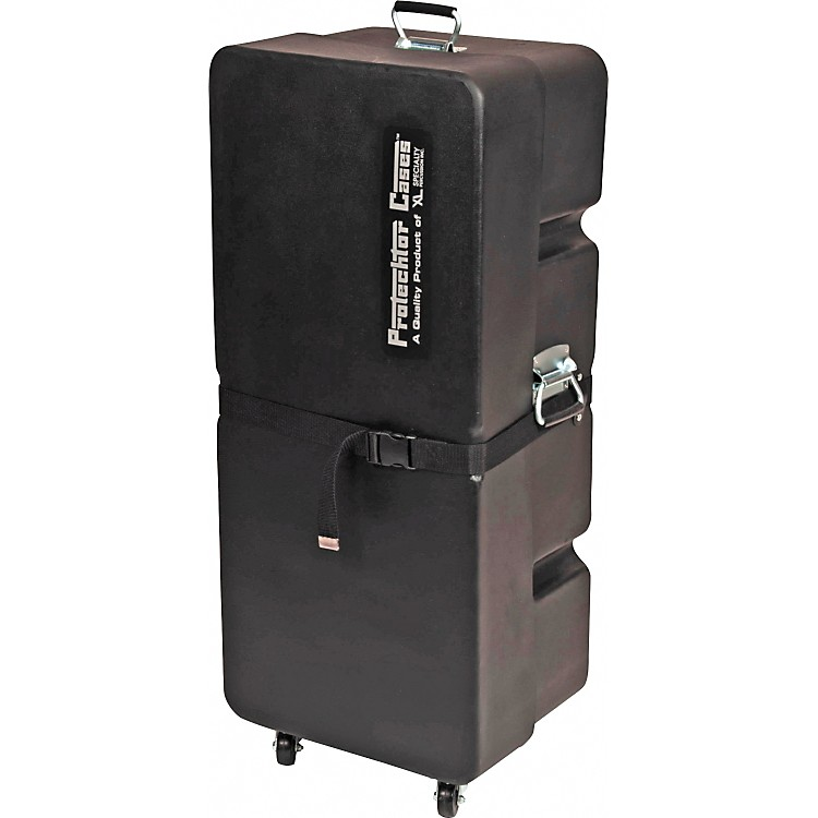 Protechtor CasesProtechtor Classic Upright Accessory Case with WheelsBlack