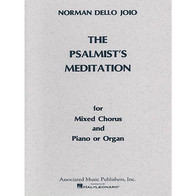 AssociatedPsalmist's Meditation (SATB) SATB composed by Norman Dello Joio