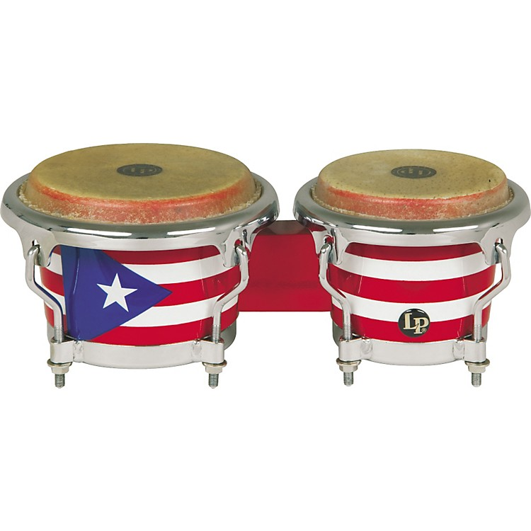 LP Puerto Rican Flag Mini-Bongos