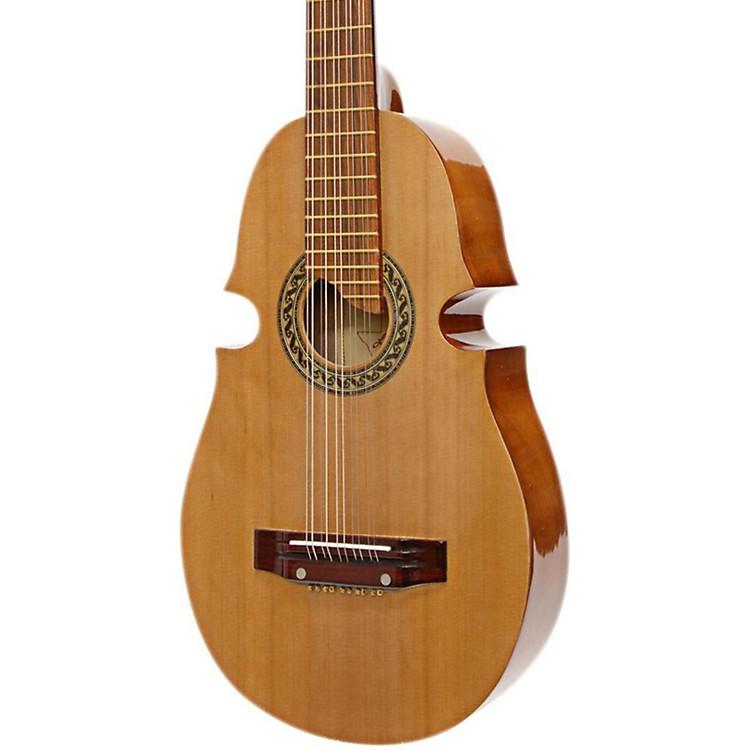 Paracho Elite GuitarsPuerto Rican Style Cuatro Acoustic GuitarNatural