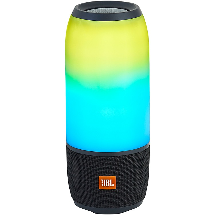 JBLPulse 3 Portable Speaker with Bluetooth, Built-in Battery, Mic and Built-in Light ShowBlack