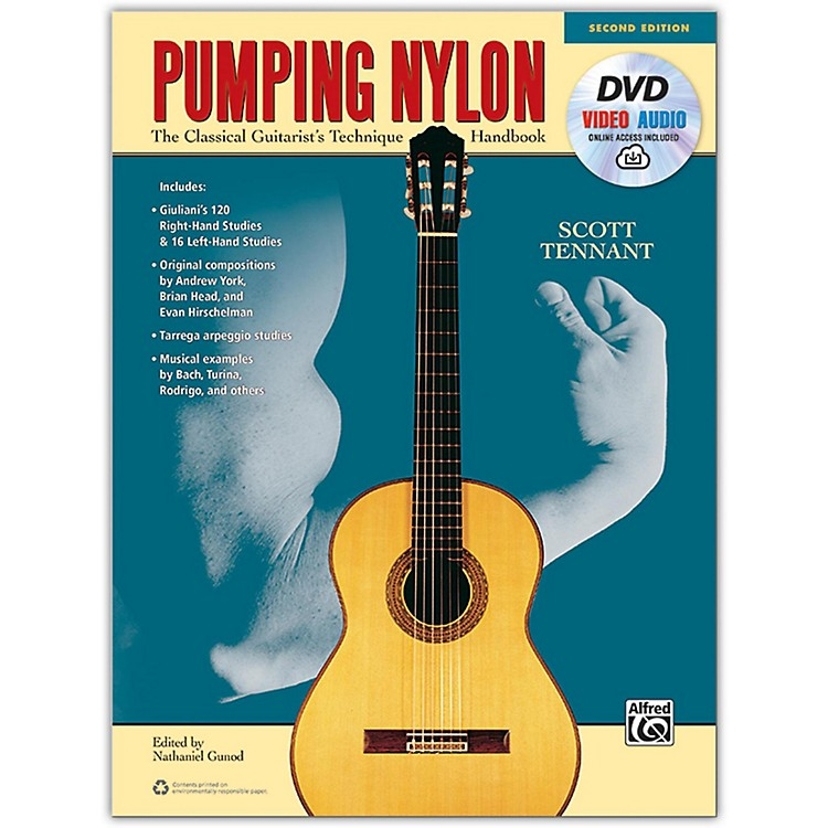 AlfredPumping Nylon Book, DVD & Online Audio, Video & Software - 2nd Edition