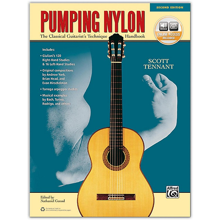 AlfredPumping Nylon Book, DVD & Online Audio, Video & Software  2nd Edition