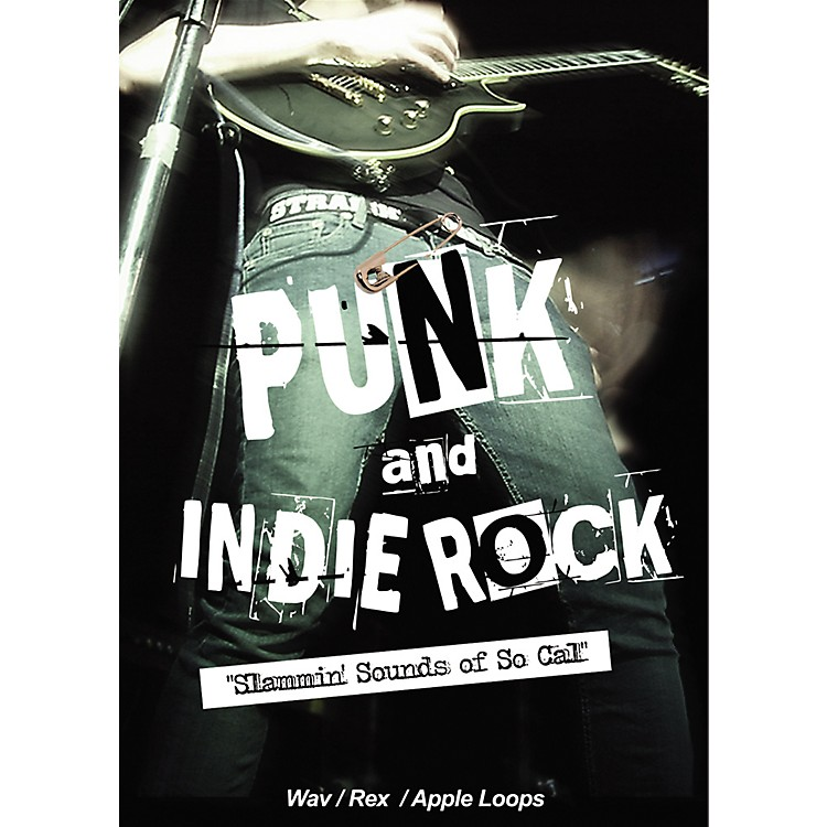 Big FishPunk and Indie Rock Slammin' Sounds of So-Cal Sample Library DVD