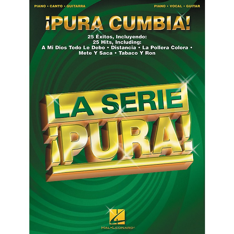 Hal Leonard Pura Cumbia Spanish Piano, Vocal, Guitar Songbook