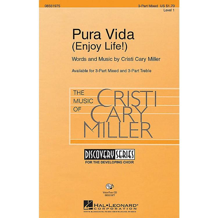 Hal LeonardPura Vida (Enjoy Life!) VoiceTrax CD Composed by Cristi Cary Miller