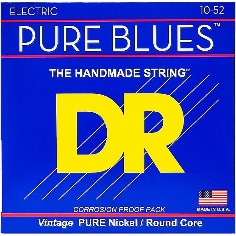 DR StringsPure Blues  Nickel Big N' Heavy Electric Guitar Strings (10-52)