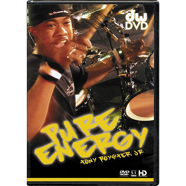 The Drum ChannelPure Energy: Tony Royster Jr. DVD