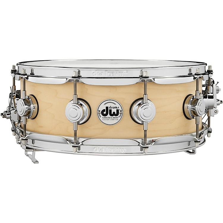 DW Pure Maple True-Sonic Snare Drum 14 x 5 in. Satin Natural