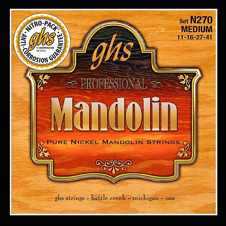GHSPure Nickel Mandolin Medium Strings