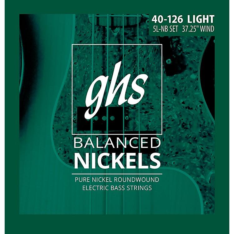 GHSPure Nickel Roundwound Light 40-126