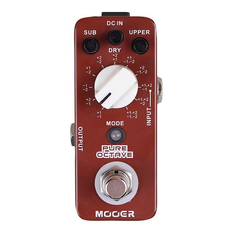 MooerPure Octave Guitar Effects Pedal