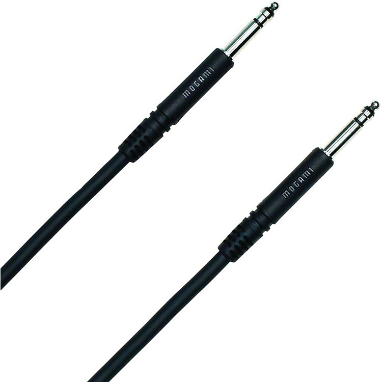 Mogami Pure Patch TT-TT Patch Cable Black 24 in.