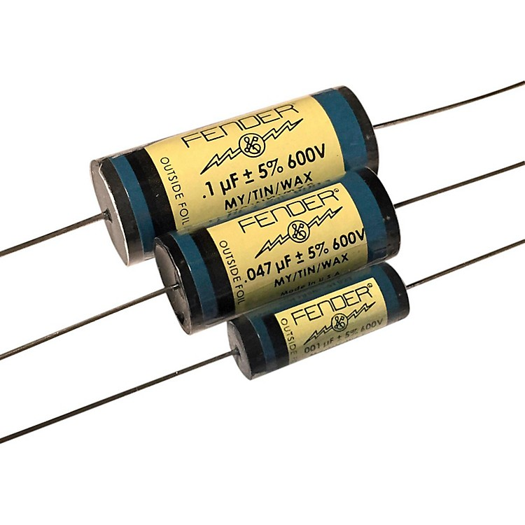 Fender Pure Vintage BLUE Amplifier Capacitors .1 - 600V MTW