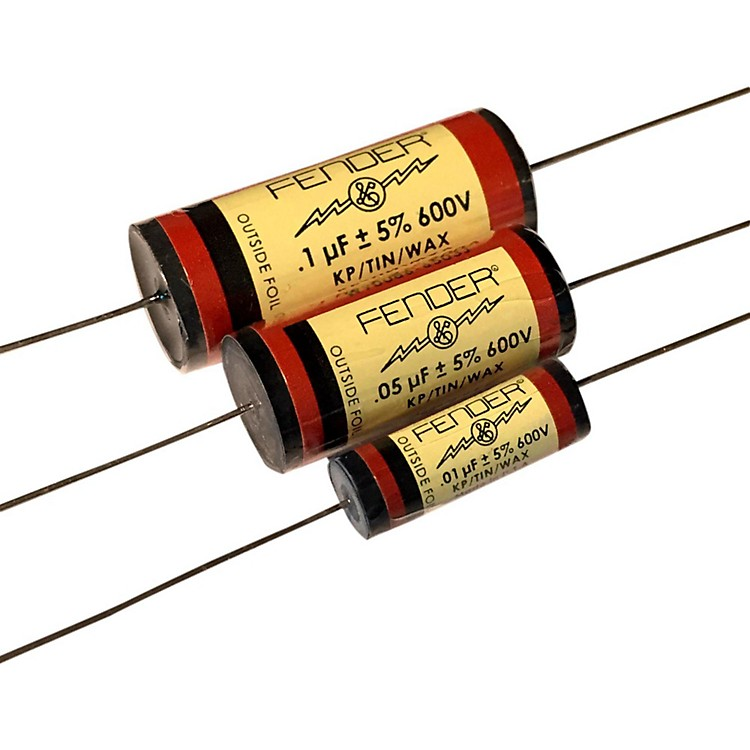 Fender Pure Vintage RED Amplifier Capacitors .1 - 600V KTW