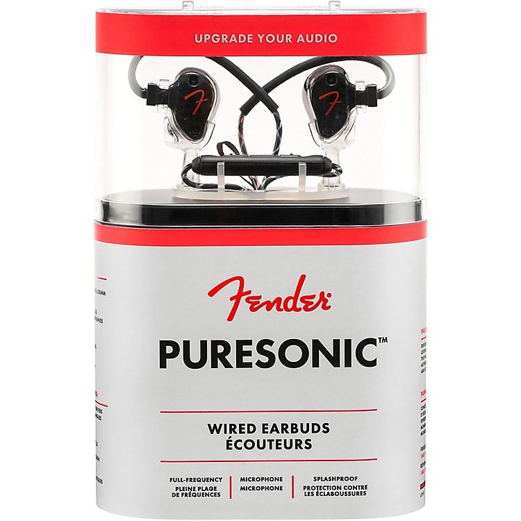 FenderPureSonic Wired EarbudsBlack Metallic