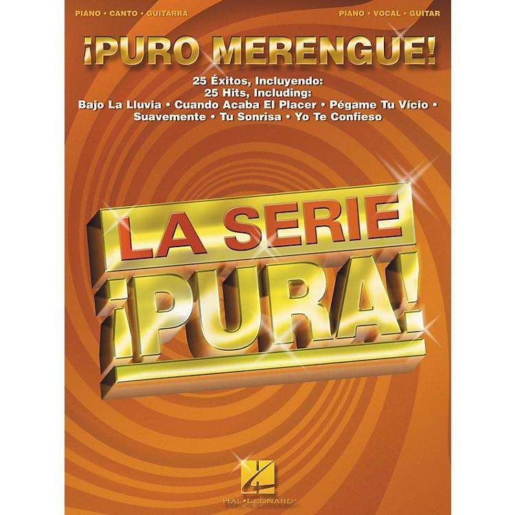 Hal LeonardPuro Merengue Piano/Vocal/Guitar Songbook