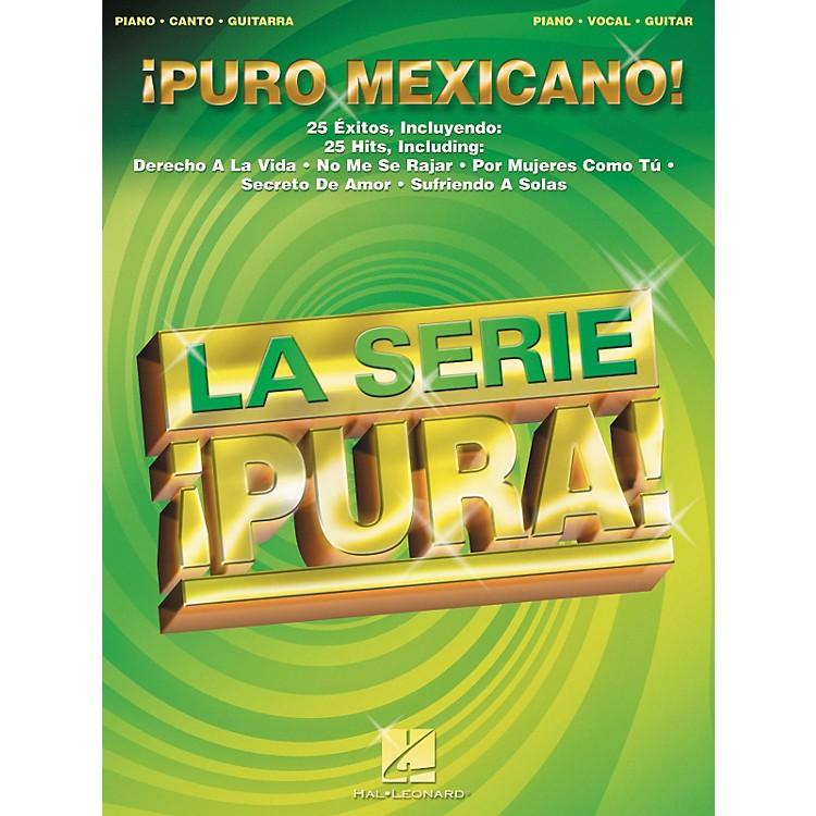 Hal LeonardPuro Mexicano! Piano, Vocal, Guitar Songbook