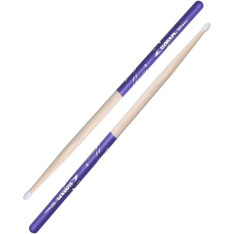 Zildjian Purple DIP Drumsticks Nylon 5B