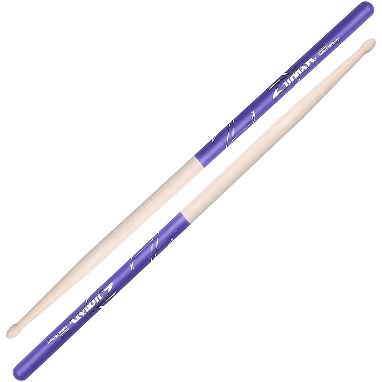 Zildjian Purple DIP Drumsticks Wood 5A