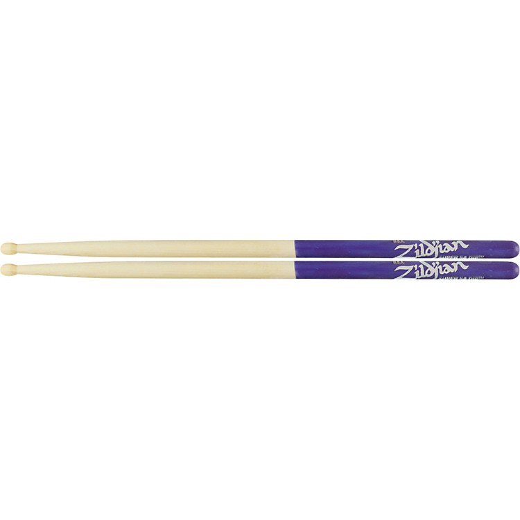 ZildjianPurple DIP DrumsticksWoodSuper 5A