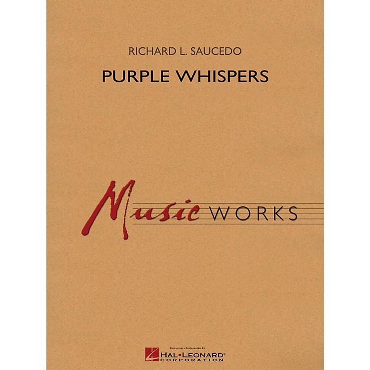 Hal LeonardPurple Whispers - MusicWorks Grade 5 Concert Band