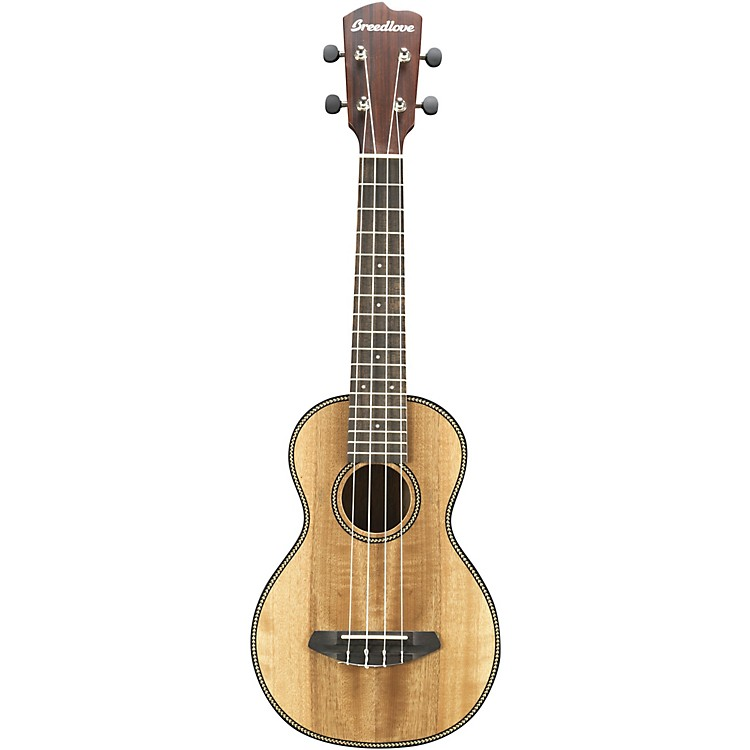 Breedlove Pursuit Concert Acoustic Ukulele Satin Natural