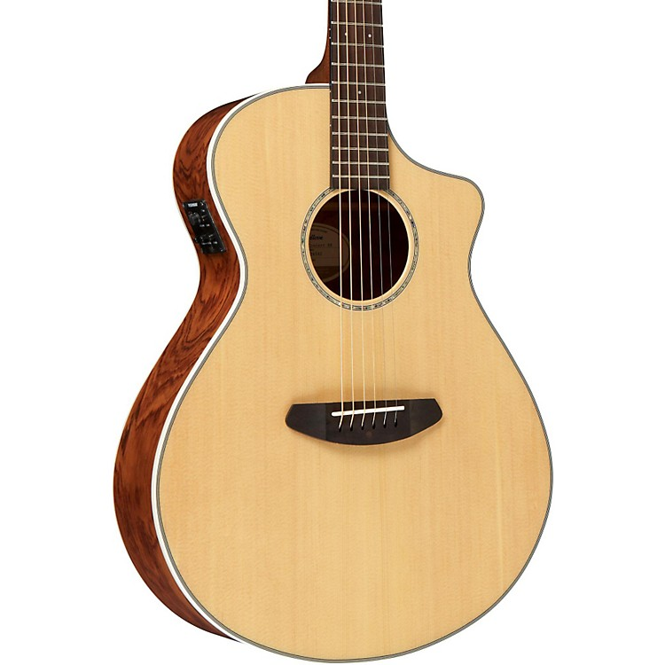 Breedlove Pursuit Concert Bubinga Acoustic-Electric Guitar Natural with USB