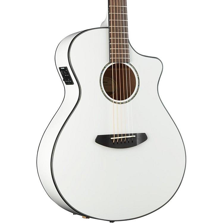 BreedlovePursuit Concert CE Acoustic Electric GuitarWhite