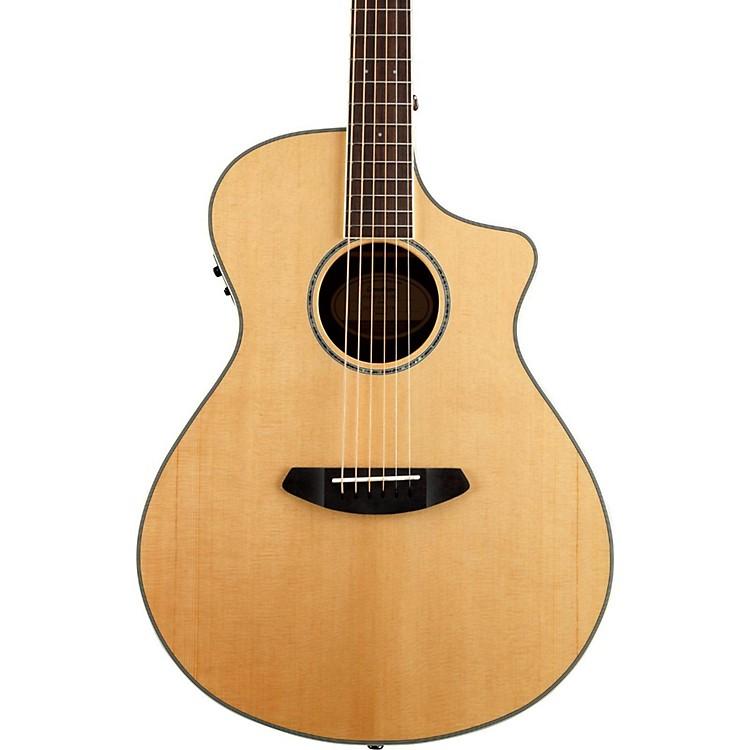 BreedlovePursuit Concert CE Sitka Spruce - Bubinga Acoustic-Electric GuitarNatural