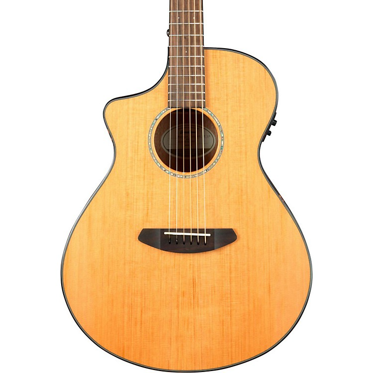 BreedlovePursuit Concert Left-Handed Acoustic-Electric GuitarNatural