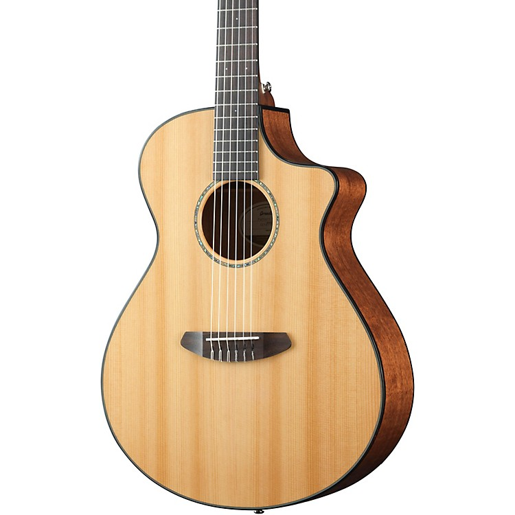 Breedlove Pursuit Concert Nylon Acoustic-Electric Guitar High Gloss Natural