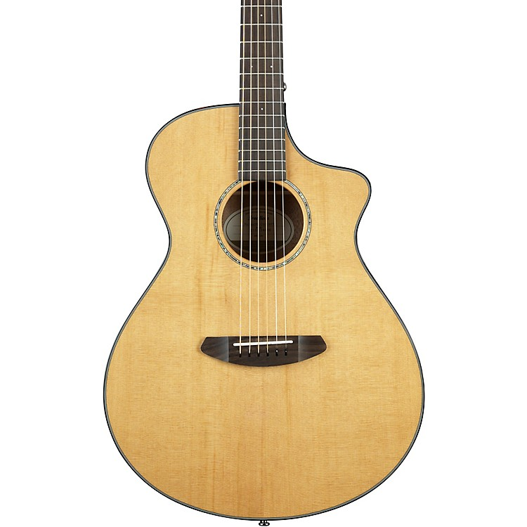 Breedlove Pursuit Concert with Red Cedar Top Acoustic-Electric Guitar High Gloss Natural