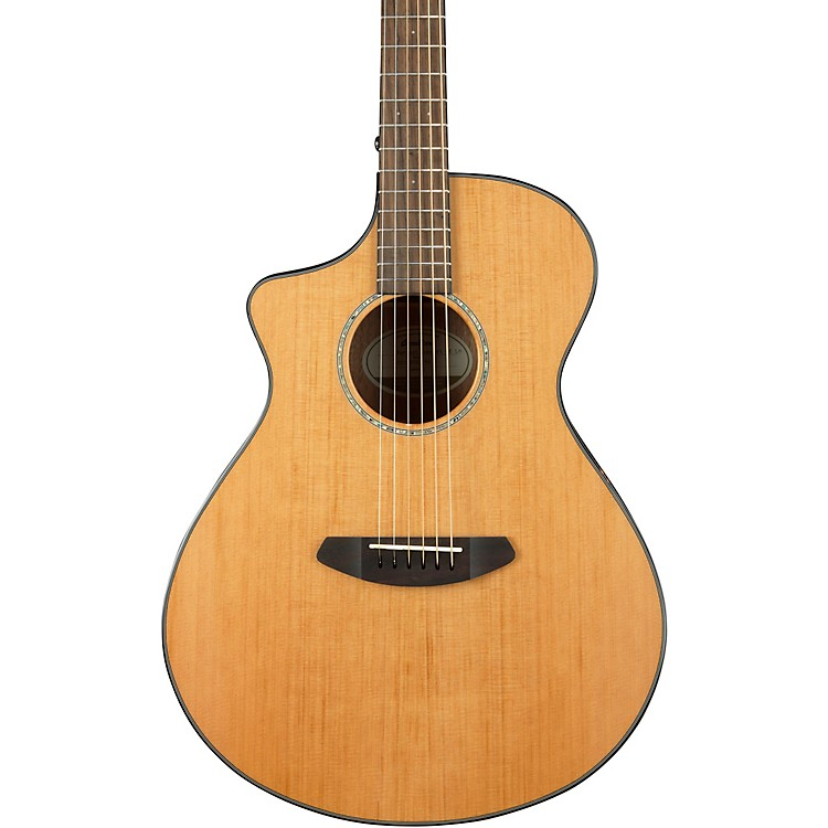BreedlovePursuit Concert with Red Cedar Top Left-Handed Acoustic-Electric GuitarHigh Gloss Natural