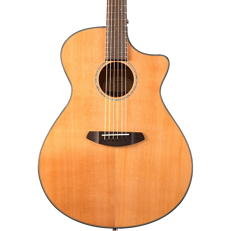 Breedlove Pursuit Concerto Red Cedar - Mahogany Acoustic-Electic Guitar Gloss Natural