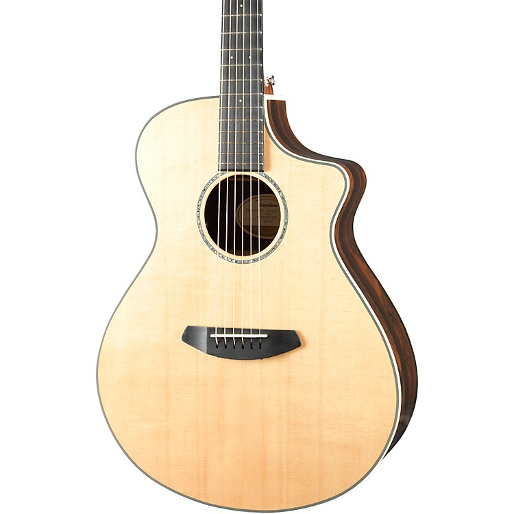 Breedlove Pursuit Exotic Concert Acoustic-Electric Guitar High Gloss Natural