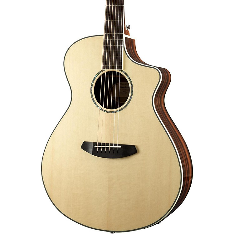 BreedlovePursuit Exotic Concert CE Engelmann Spruce - Striped Ebony Acoustic-Electric Guitar