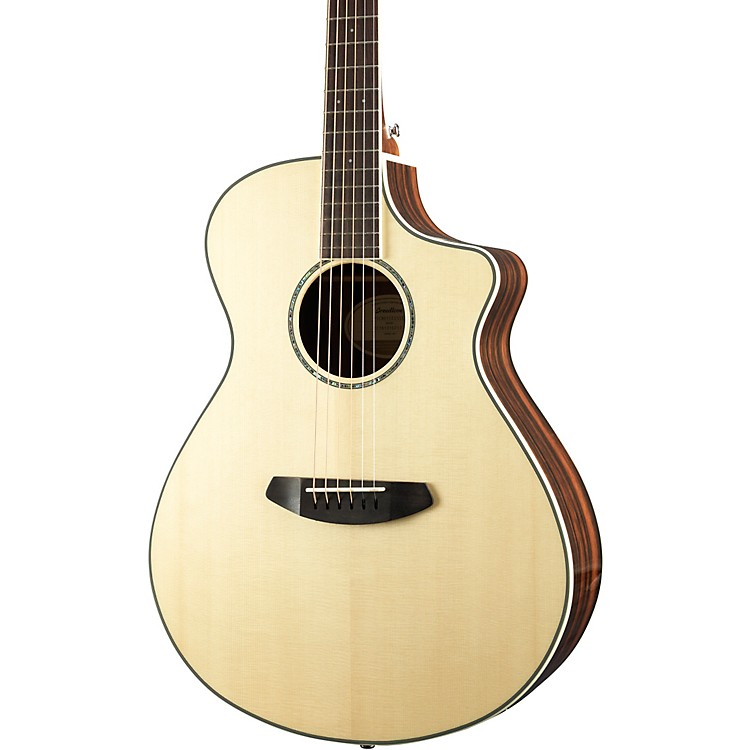 BreedlovePursuit Exotic Concert with Engelmann Spruce Top Acoustic-Electric GuitarHigh Gloss Natural