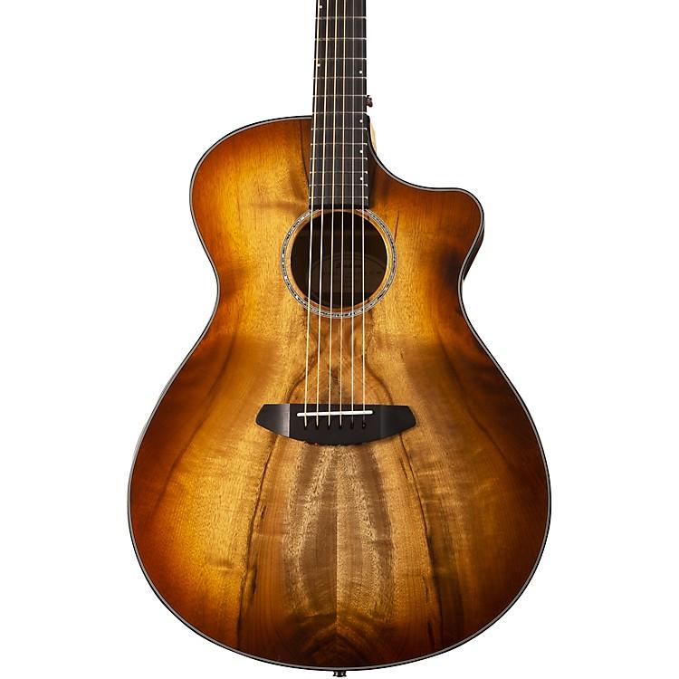 BreedlovePursuit Exotic Concerto CE Myrtlewood-Myrtlewood Acoustic-Electric GuitarCinnamon Burst