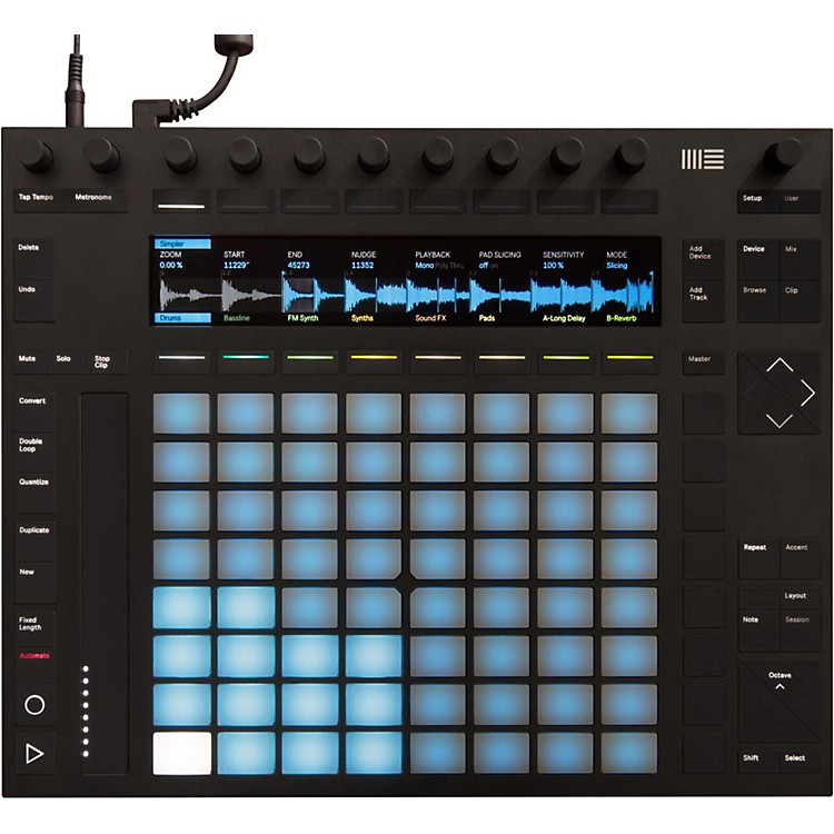 AbletonPush 2 Software Controller Instrument with Live Intro