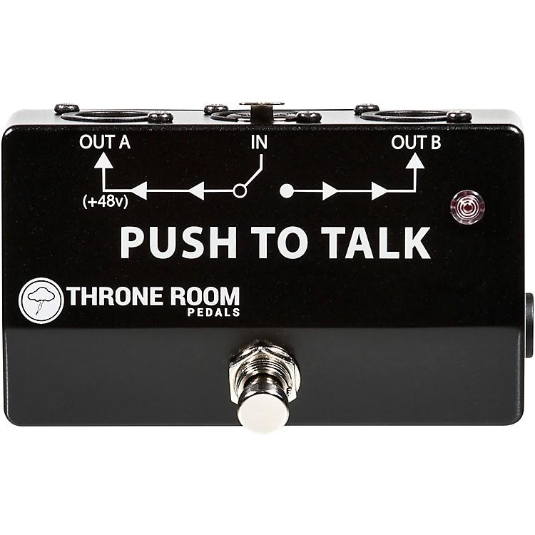 Throne Room PedalsPush To Talk Box Momentary XLR A/B Switcher