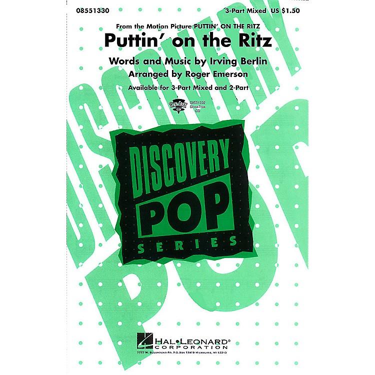 Hal LeonardPuttin' On the Ritz 2-Part Arranged by Roger Emerson