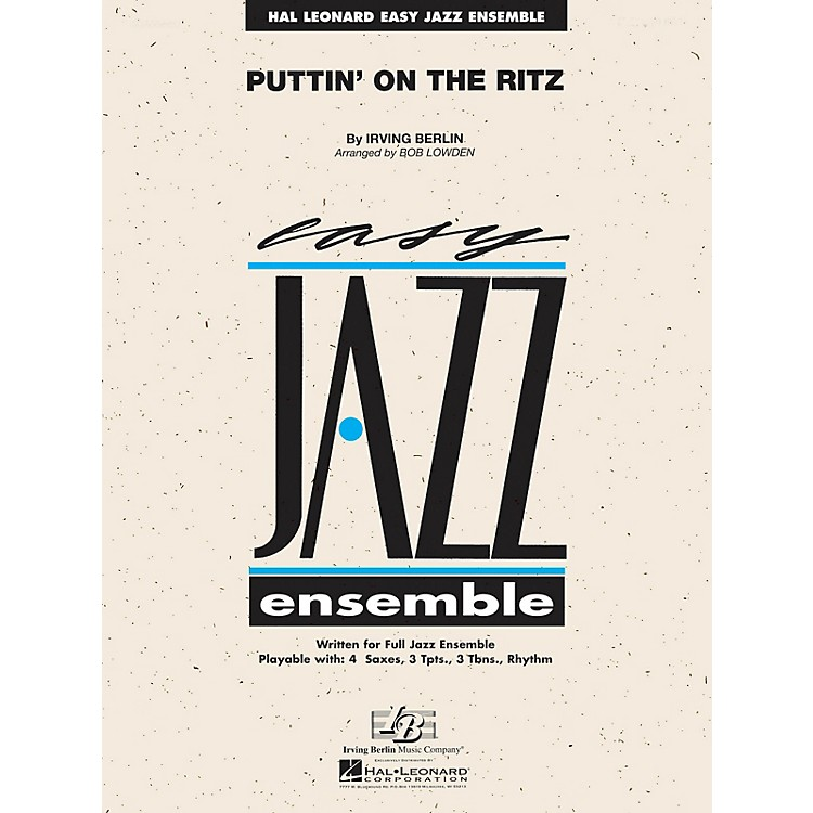 Hal Leonard Puttin' on the Ritz Jazz Band Level 2 Arranged by Les Hooper