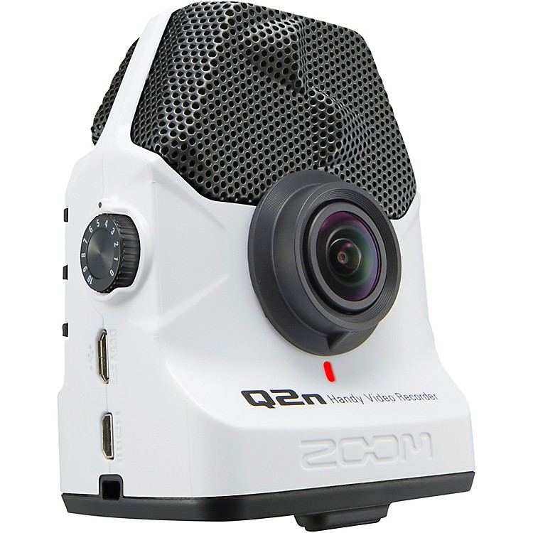 Zoom Q2n Handy Video Recorder White Edition