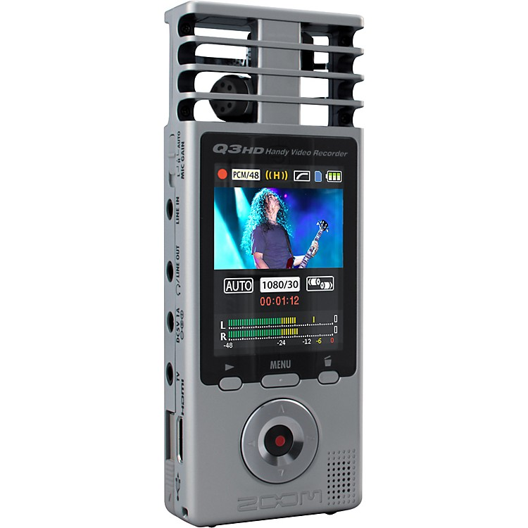 ZoomQ3HD Handy Video Recorder