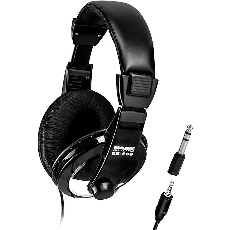 NadyQH-200 Stereo Headphones 40 mm drivers with adjustable headbandBlack
