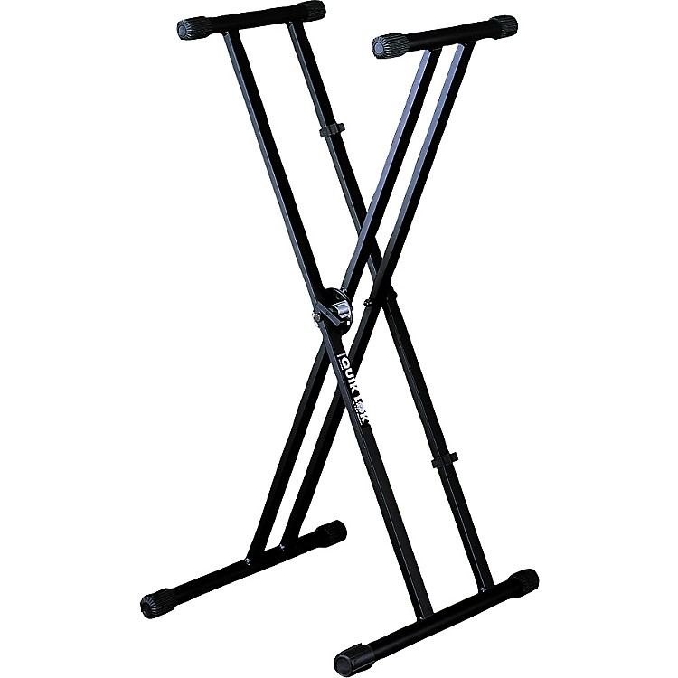 Quik-Lok QLX-21 Double Braced Single Tier Keyboard Stand
