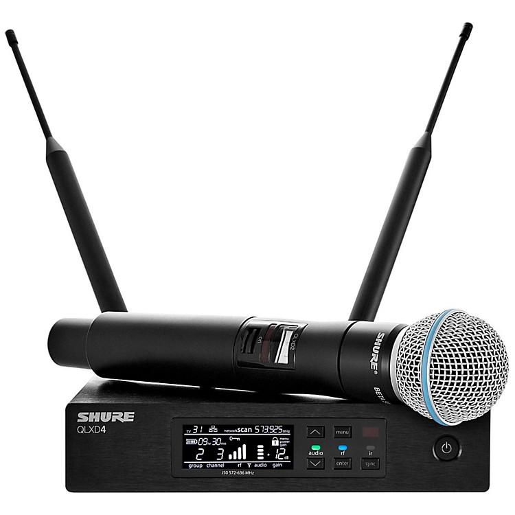 ShureQLX-D Digital Wireless System with Beta 58 MicrophoneBand X52