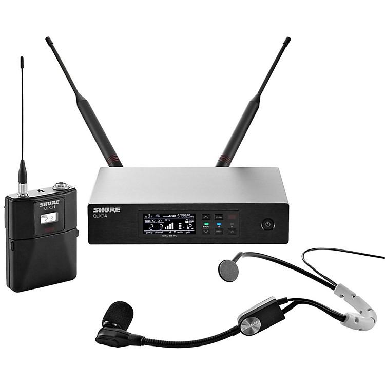 ShureQLX-D Digital Wireless System with SM35 Condenser Headset MicrophoneBand X52