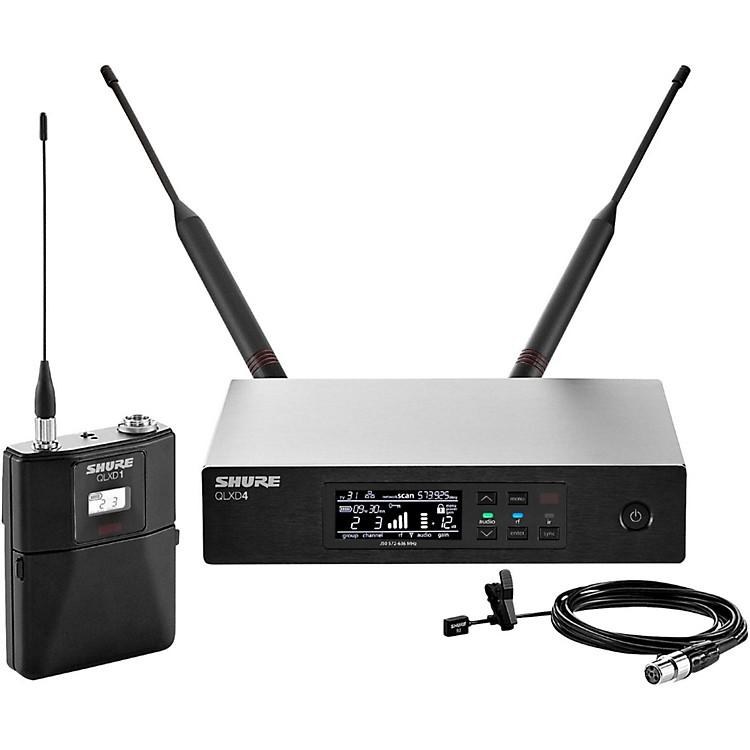 ShureQLX-D Digital Wireless System with WL93 Omnidirectional LavalierBand H50